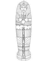Small Picture Printable Mummy Coloring Pages Coloring Me