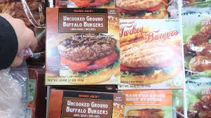 i really like the buffalo burgers the chili lime burgers the turkey burgers and the mahi mahi burgers