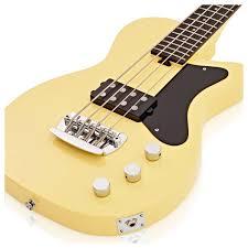 Vintage silvertone bass guitar