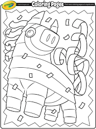 Here we have a beautifully illustrated set of cinco de mayo colouring pages. Cinco De Mayo Pinata Coloring Page Crayola Com