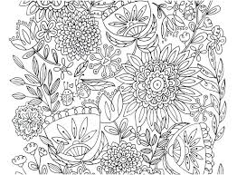 Useful Large Flower Coloring Pages D4605 Flower Pot Coloring Pages