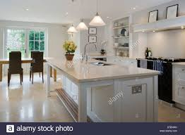 Large Kitchen Island Stock Photos Large Kitchen Island Stock