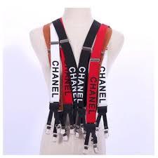 chanel suspenders. chanel suspenders by exalt