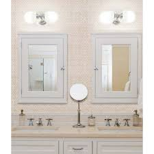 Penny Round Mother of Pearl Wall Mirror Tile