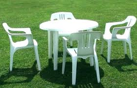 plastic outdoor tables plastic outdoor round