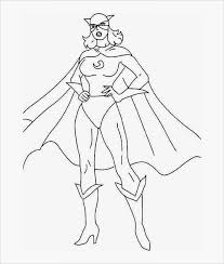 Female Superhero Coloring Pages Image Result For Template Of Female Superhero Br1 Pinterest