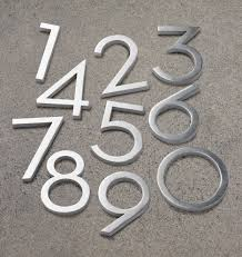 modern mailbox numbers. Simple Numbers Inside Modern Mailbox Numbers G