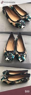 Walnut Shoes Size Chart Coach Lara Walnut Pony Hair Ballet Flat New Shoes I Dont