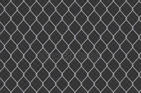 wire fence transparent. Creative Vector Illustration Of Chain Link Fence Wire Mesh Steel Metal Isolated On Transparent Background.