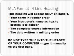 Mla Format Order Ataumberglauf Verbandcom