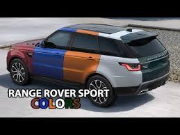 New Range Rover Sport 2018 Amazing Colors