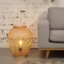 Tuvalu Floor Lamp Bamboo S Goodmojo