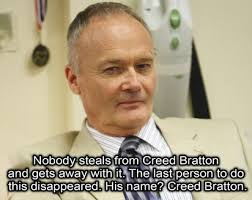 Creed Quotes Delectable 48 Of The Most Ridiculous Things Creed Bratton Has Ever Said On 'The