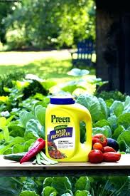 preen paper weed barrier tar herbicide control for vegetable garden weeds gardens