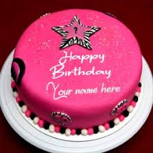 Write Name On Boyfriend Birthday Cake Images My Name Pix India