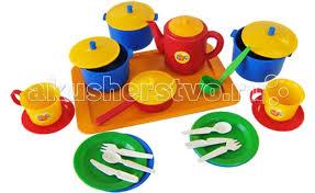 <b>Набор</b> посуды хозяюшка большой <b>Пластмастер</b> — купить в ...