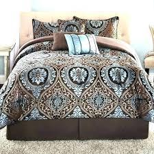 Kohls King Size Sheets Flannel Bedding Sets Comforter Black And ...