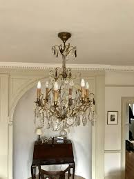 photos antique french chandelier