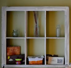 Wooden Window Frame Crafts Thrifty Decorating Using Old Windows As Storage Solutions