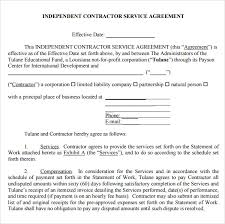 Service Agreement Template Pdf - April.onthemarch.co