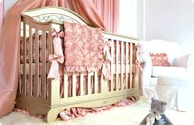 pink and gold nursery bedding gold baby crib home design cute pink and gold nursery bedding