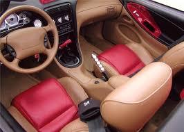 1994 ford mustang cobra custom convertible interior 96804