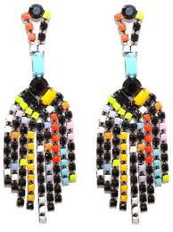 tom binns colourful chandelier earrings