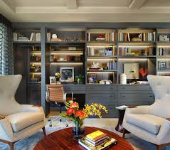 Home office library design ideas Bookcase Home Office Library Ideas121 Kindesign One Kindesign 28 Dreamy Home Offices With Libraries For Creative Inspiration