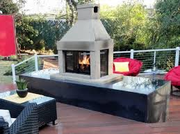 large clay chiminea outdoor fireplace