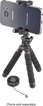 <b>Tripod and Bluetooth</b> Shutter Remote for Most Cell Phones NS ...