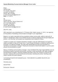 Sample C Gallery Of Art Senior Advertising Manager Cover Letter