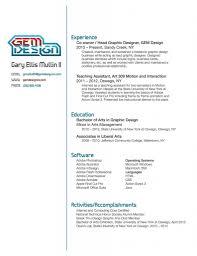 Graphic Design Resume Examples Graphic Artist Resume Sample Design Resume Sample Samples Graphic 85