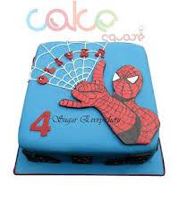 Odc181 Spider Man 1kg Designer Cakes Cake Square Chennai
