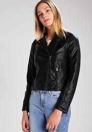 vero moda vmkamma faux leather jacket black beauty obl4wtr7