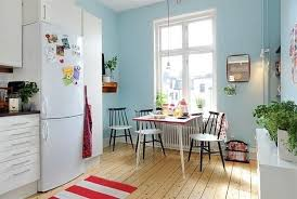 blue interior paintCool Blue Interior Paint and Colorful Decorative Accents Summer
