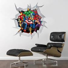 marvel comics mural wall graphic