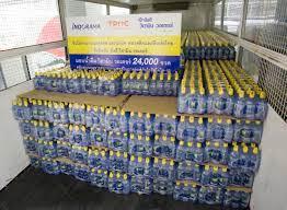อินโดรามา จับมือพันธมิตร มอบน้ำดื่มวิตามิน วอเตอร์ 665,000 ขวด สนับสนุนแพทย์