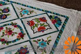 Embroidery Machine Applique Quilt Patterns | makaroka.com & Piece N Quilt Embroidery Applique Quilt Adamdwight.com
