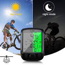 <b>Waterproof Digital LCD</b> Cycle Bicycle Bike Computer Odometer ...