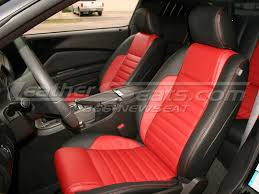 ford mustang leather interiors