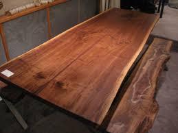 Image Dining Custom Made Walnut Live Edge Slab Base Table Custommade Handmade Walnut Live Edge Slab Base Table By Woodrich Custommadecom