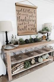 fall inspired decorations with an earthy touch