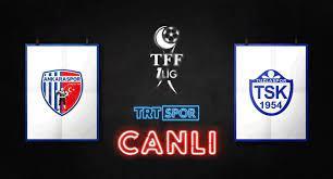 TRT Spor - #CANLI ⚽ TFF 1. Lig'de 23. hafta heyecanı… 🆚...