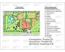 Скачать бесплатно дипломный проект ПГС Диплом № Двухэтажный  2 Генеральный план jpg