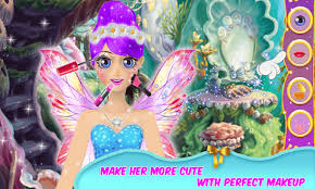 royal fairy tale princess makeup game free apk screenshot 1