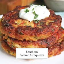 easy southern salmon croquettes recipe