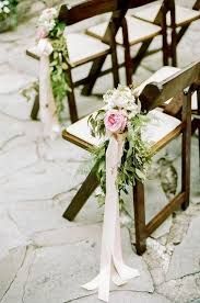 classy wedding chair decorations 29
