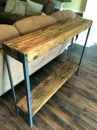 rustic sofa table ideas. Sofa Table Ideas Couch And  How To Build . Rustic