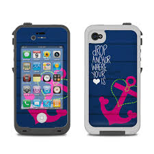 iphone 4 cases for girls. lifeproof iphone 4 case skin - drop anchor iphone cases for girls e