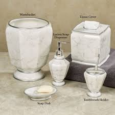 elegance faux marble bath accessories elegance lotion soap dispenser ivory touch to zoom